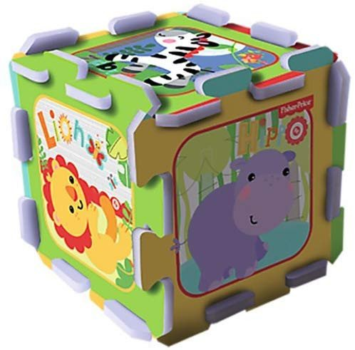 Puzzle din spuma Fisher Price Zoo 8 piese